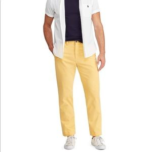 Polo Ralph Lauren yellow classic fit pants 31X30